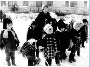 Детский сад был построен по инициативе Д. М. Гармаш. Им очень гордилась Дарь