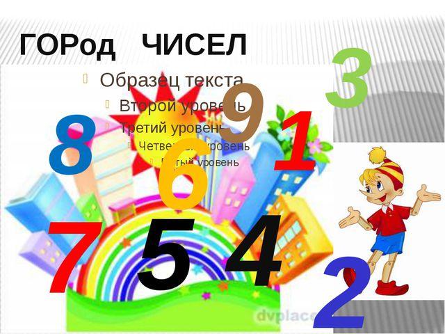 ГОРод ЧИСЕЛ 1 3 5 2 6 4 7 9 8