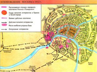 лето 1612 г. Войска второго ополчения подошли к Москве