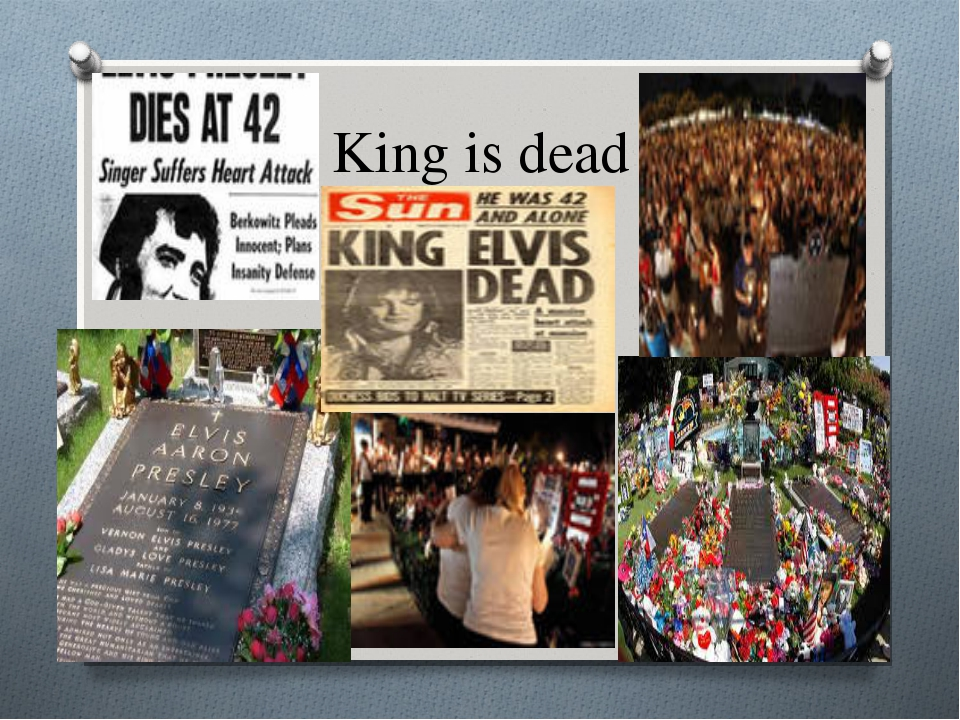 King is dead
