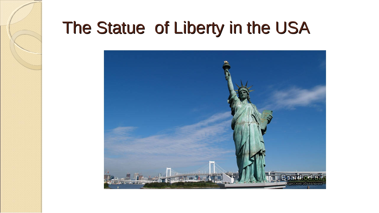 The Statue of Liberty in the USA