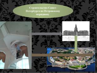 Строительство Санкт-Петербурга по Петровскому меридиану