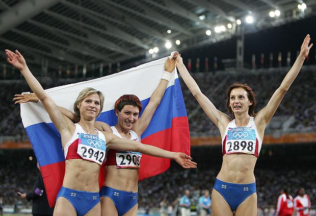 Ирина Симагина, Татьяна Лебедева и Татьяна Котова