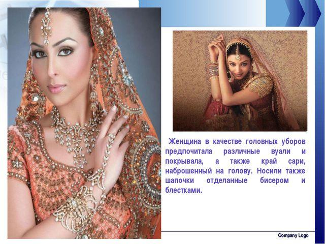 www.thmemgallery.com Company Logo Женщина в качестве головных уборов предпочи...