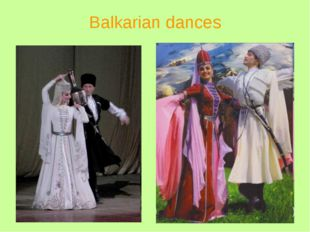 Balkarian dances