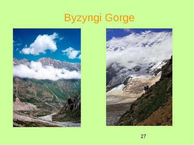 Byzyngi Gorge