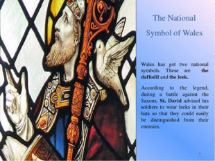 The National Symbol of Wales Wales has got two national symbols. These are th