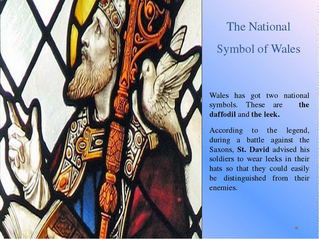 The National Symbol of Wales Wales has got two national symbols. These are th...
