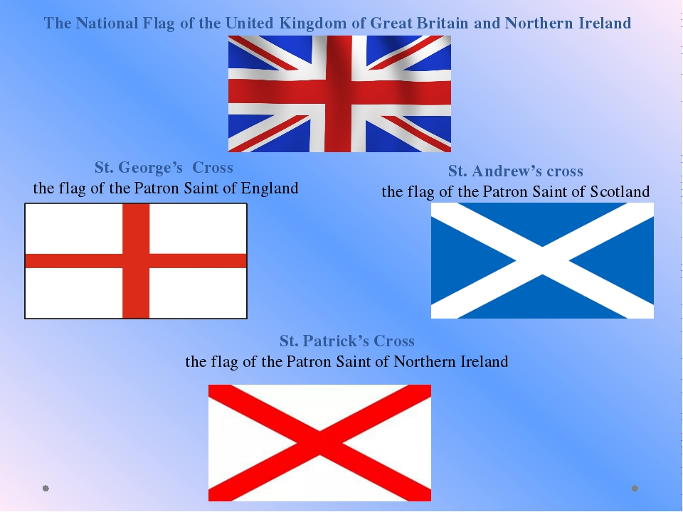 The National Flag of the United Kingdom of Great Britain and Northern Ireland...