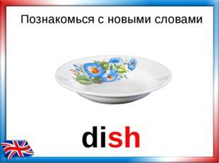 dish Познакомься с новыми словами