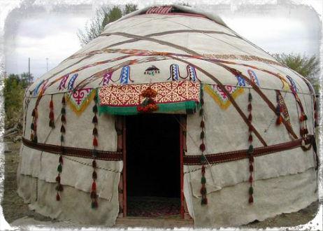 Казахская юрта