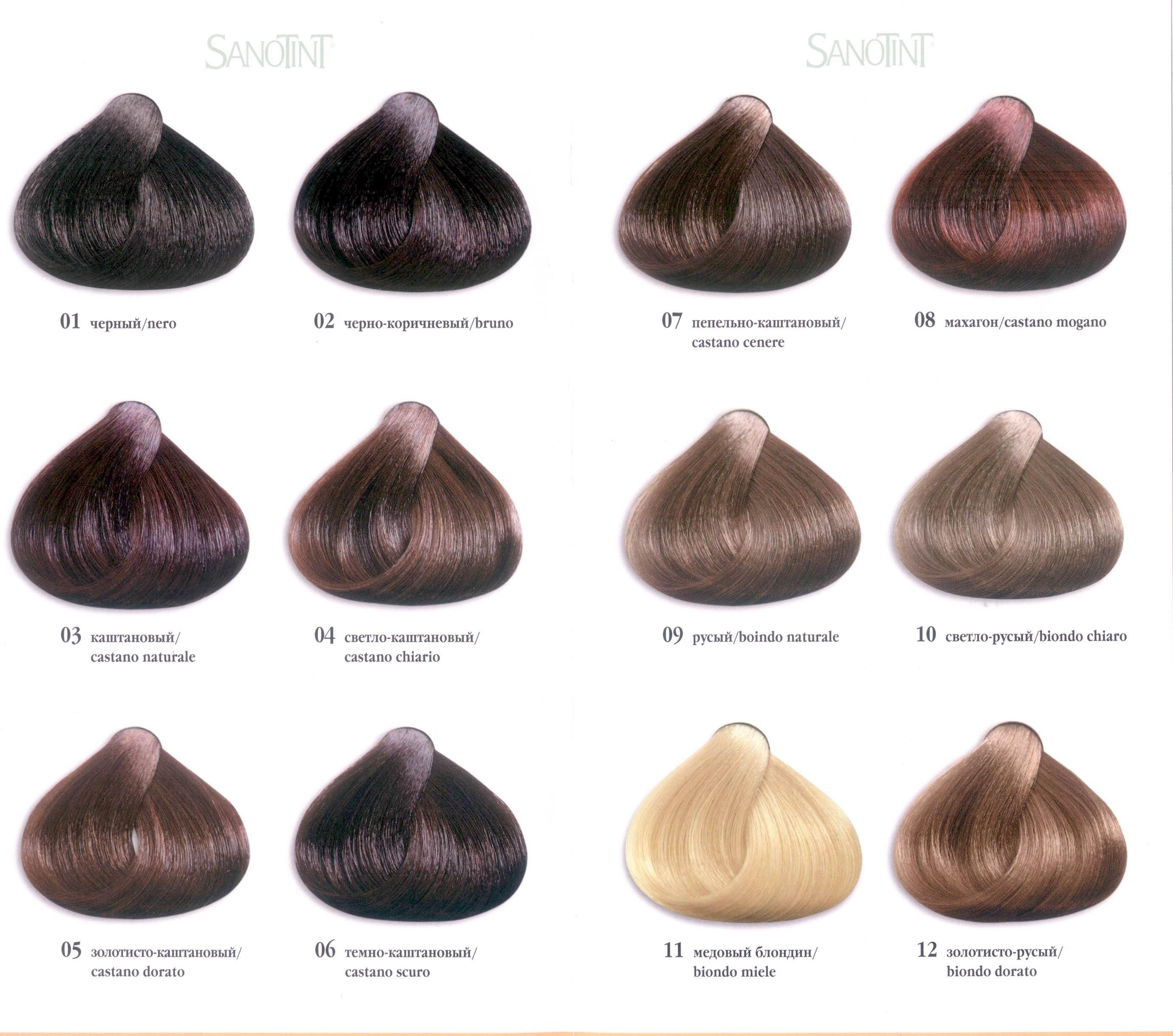 Светло черный цвет волос