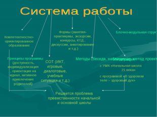 Компетентностно-ориентированное образование Формы (занятия-практикумы, экскур