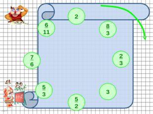 2 8 3 2 3 3 5 2 5 3 7 6 6 11 nkard Примеры выполняются в тетрадях. Проверка -