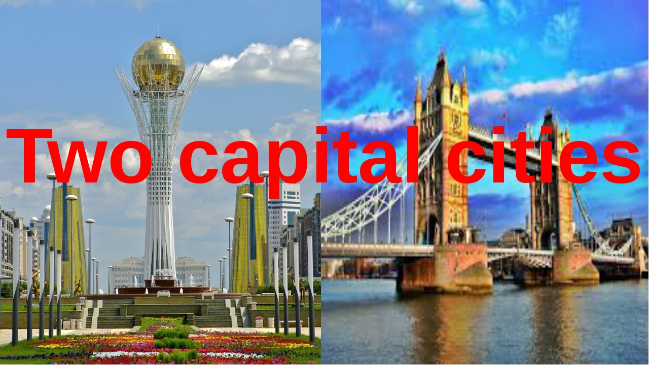Two capital cities