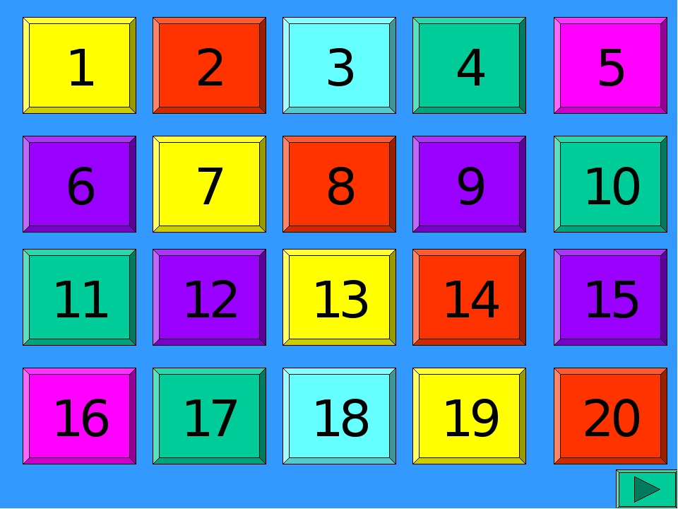 1 6 11 16 2 7 12 17 3 8 13 18 4 9 14 19 5 10 15 20
