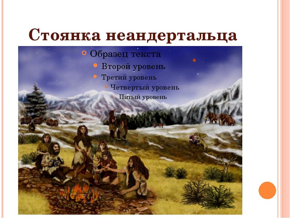 Стоянка неандертальца
