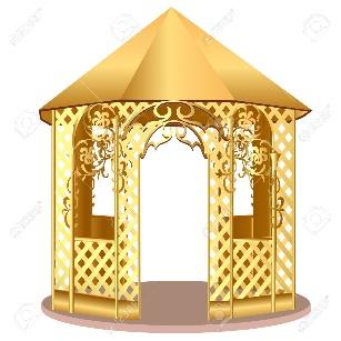 http://previews.123rf.com/images/yurkina/yurkina1110/yurkina111000143/11083023-illustration-summerhouse-with-winding-ornament-with-flower-Stock-Vector.jpg