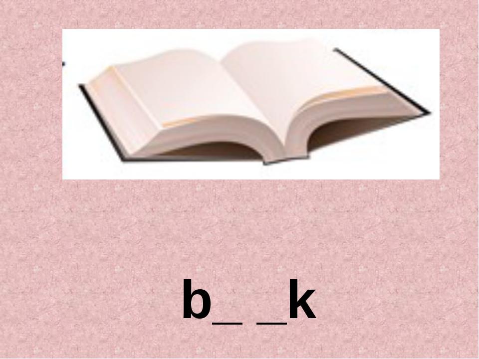 b_ _k