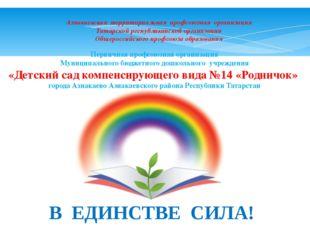Азнакаевская территориальная профсоюзная организация Татарской республиканско