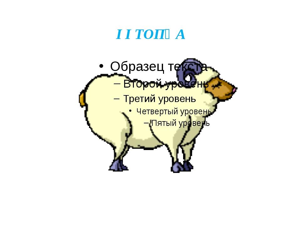 I I ТОПҚА