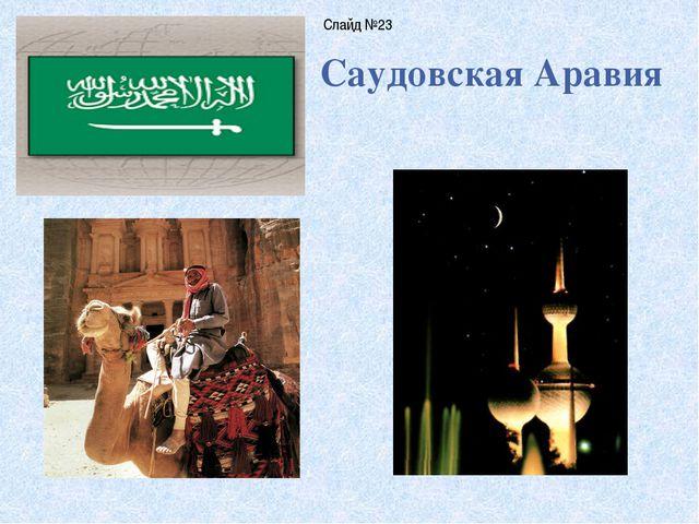 Саудовская Аравия Слайд №23
