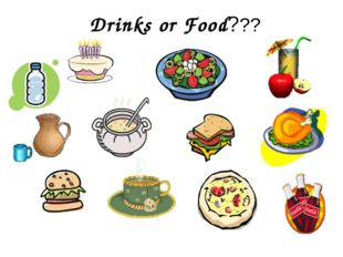 Drinks or Food???