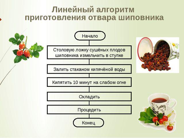 Начало Столовую ложку сушёных плодов шиповника измельчить в ступке Залить ст...