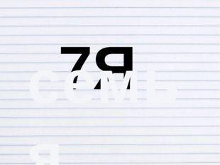 7Я семья