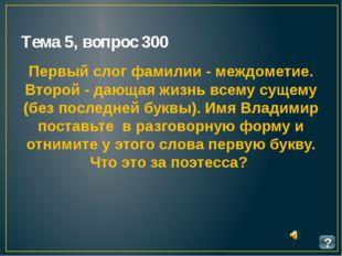 Тема 13, вопрос 1500 ? Кипренский написал портрет этого поэта. Портрет настол