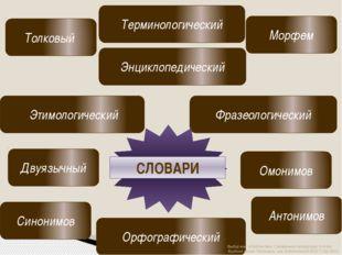 Толковый Орфографический Фразеологический Энциклопедический Омонимов Синоним