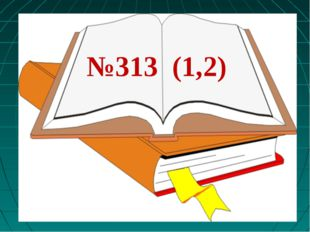 №313 (1,2)