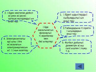Үйдегі ыдыстардың сыйымдылығын анықтау; Үйде жасалынатын физикалық тәжірибел