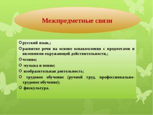 русский язык,; развитие речи на основе ознакомления с предметами и явлениями