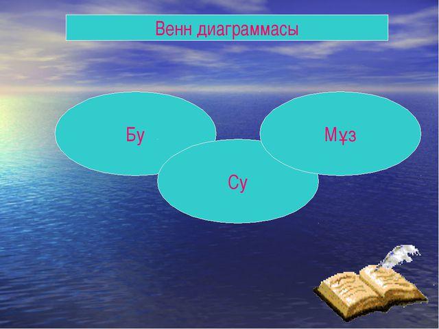 Венн диаграммасы Бу Су Мұз