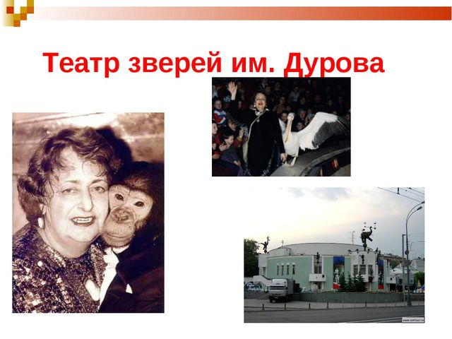 Театр зверей им. Дурова