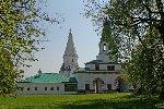Церковь Вознесения Господня в селе Коломенском и Передние ворота