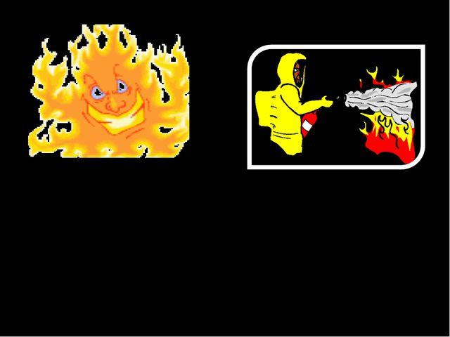 Увидел человека с горящей одеждой. Как будешь действовать?