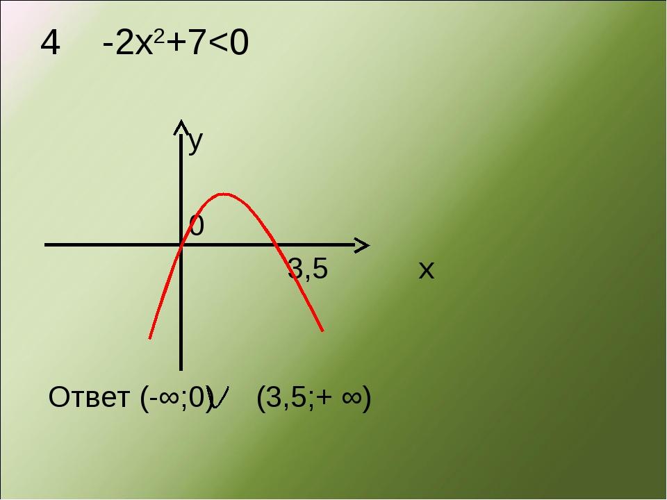 4 -2х2+7