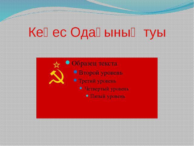 Кеңес Одағының туы