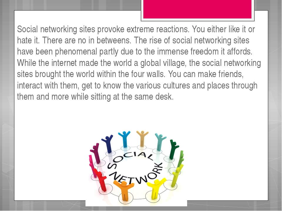 pros and cons of social networking for teens Home topics types pros and cons of social media in the classroom.