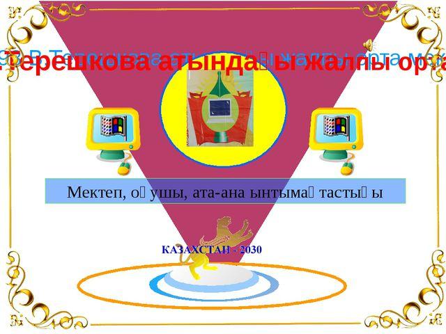 № 93 В.Терешкова атындағы жалпы орта мектеп Мектеп, оқушы, ата-ана ынтымақта...