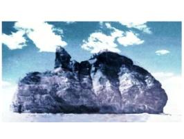 Скала, давшая название бухте и городу