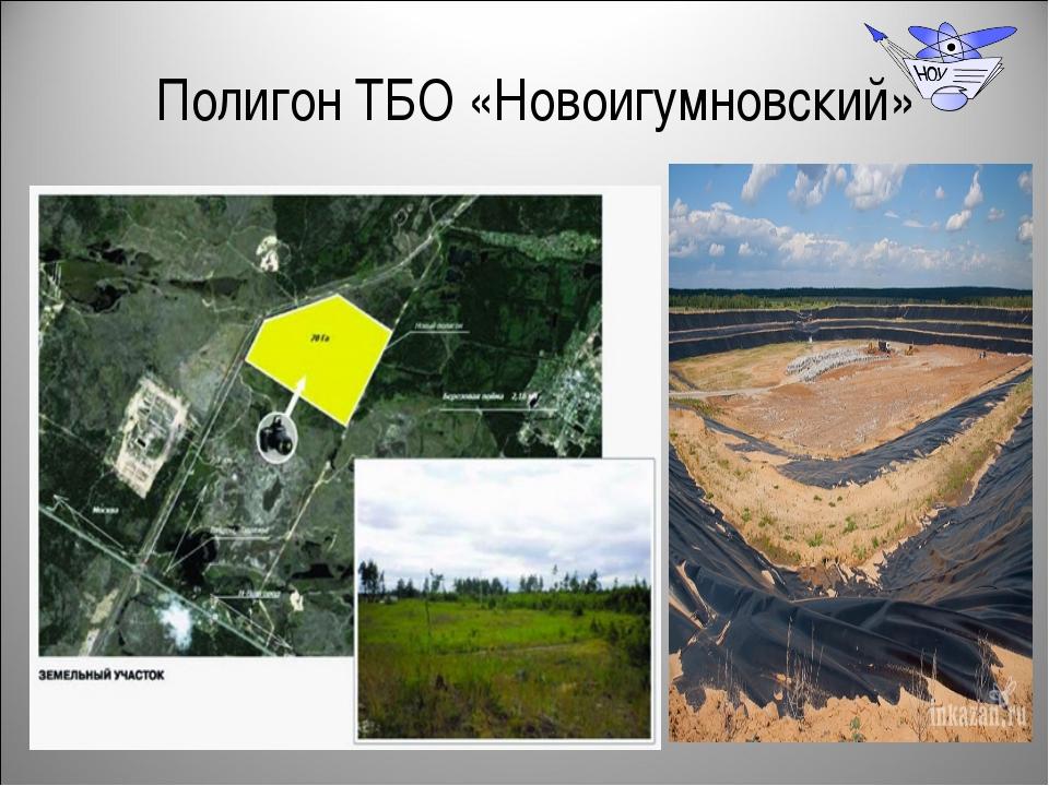 Полигон ТБО «Новоигумновский»