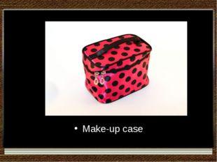 Make-up case
