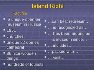 Island Kizhi Fact file a unique open-air museum in Russia 1951 churches uniqu