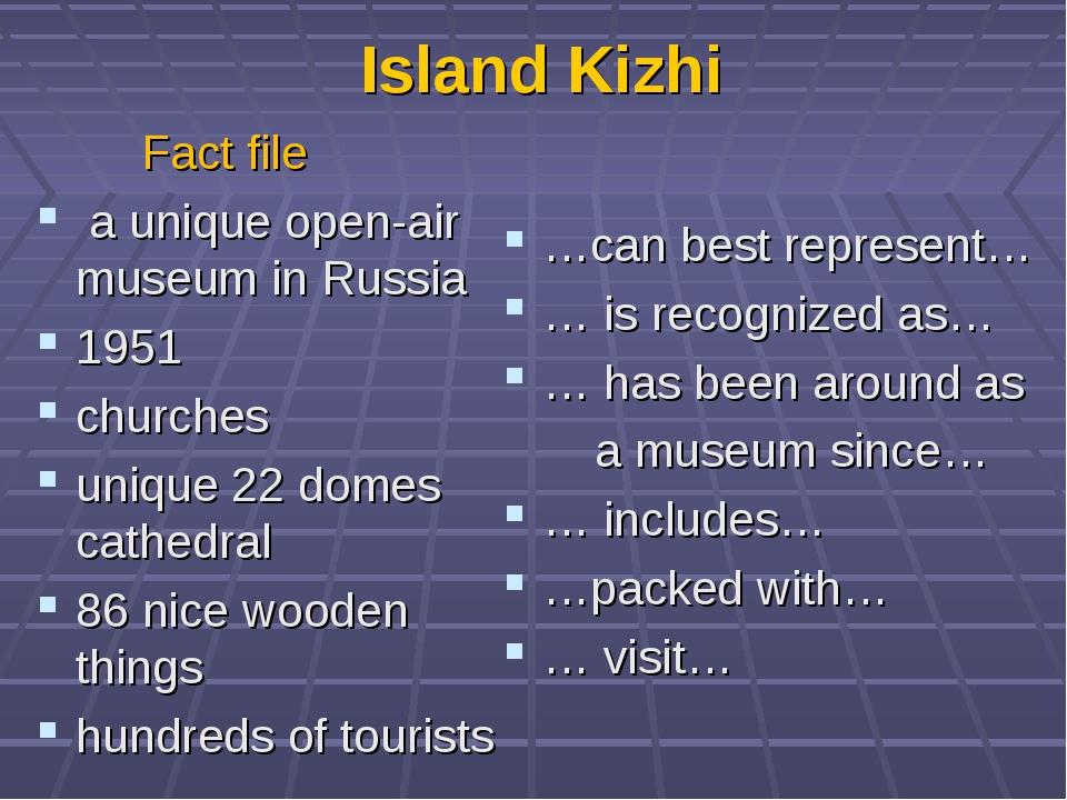 Island Kizhi Fact file a unique open-air museum in Russia 1951 churches uniqu...