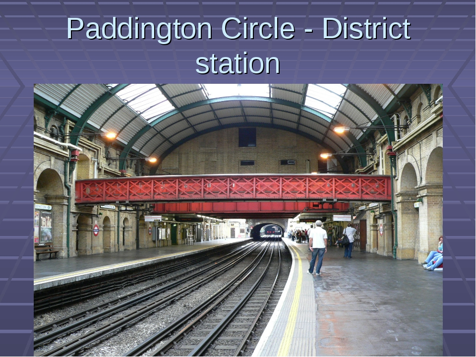 Paddington Circle - District station