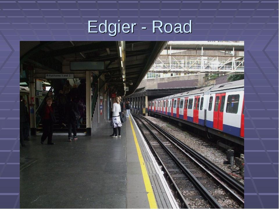 Edgier - Road