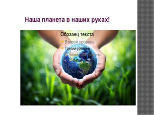 Наша планета в наших руках!